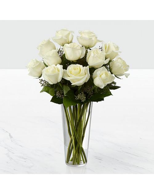 11 bijelih ruža